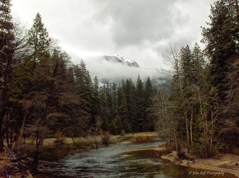Mountain Stream<br /> Yosemite National Park <br /> California