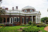 Monticello Side<br /> Plantation of Thomas Jefferson<br /> Charlottesville, Virginia