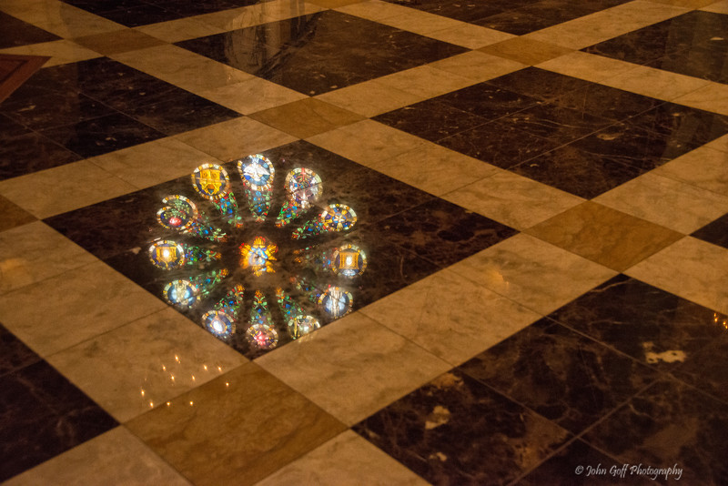 Floor Reflection<br /> Mt. Saint Mary's Immaculate Conception Chapel