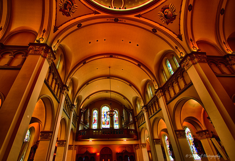 Looking Up<br /> Mt. Saint Mary's Immaculate Conception Chapel