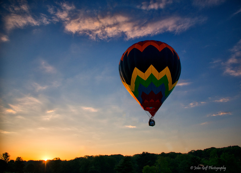 Morning Float<br /> Preakness Balloon Festival<br /> Ellicott City MD