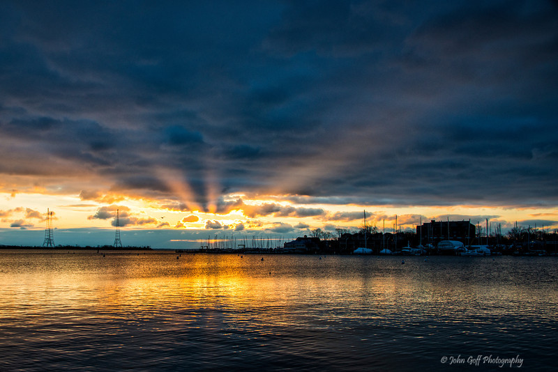 Breaking Throught<br /> <br /> Annapolis City Dock Sunrise<br /> Annapolis, Maryland