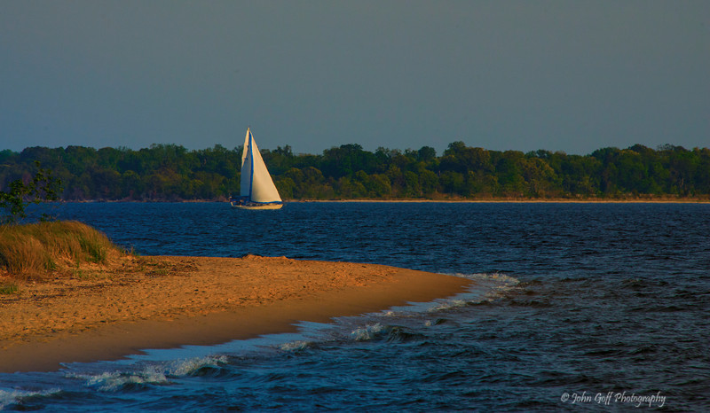 Sailing By<br /> Drum Point Club <br /> Lusby, Maryland