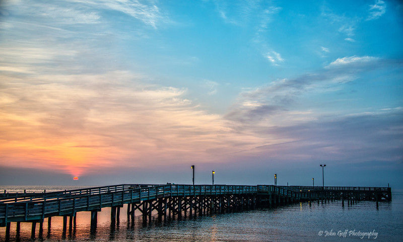 The Pier At Sunrise<br /> North Beach, Maryland