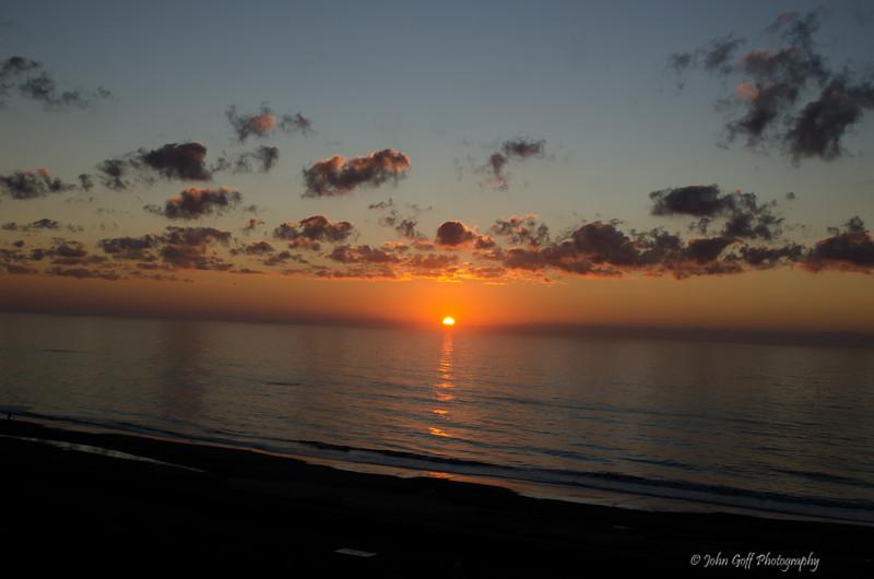 Sunrise With Clouds<br /> Myrtle Beach, South Carolina