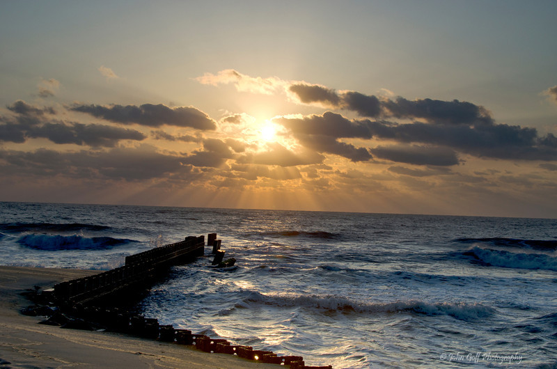 Golden Rays<br /> Cape Hatteras, North Carolina