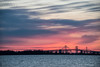 Morning at the Chesapeake Bay Bridge<br /> Sun Rise Over Chesapeake Bay Bridge<br /> Annapolis, Maryland