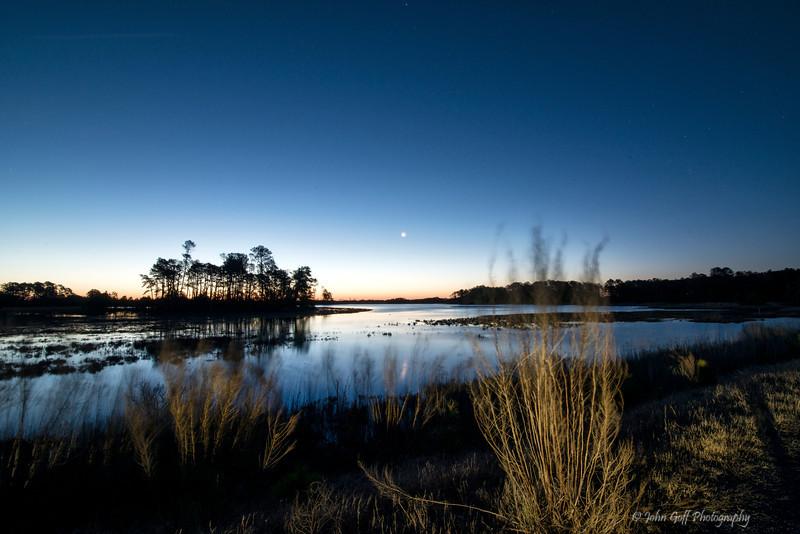 Morning Light<br /> Chincoteague National Wildlife Refuge<br /> Chincoteague, Virginia