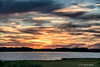 Sunset at Assawoman Bay<br /> Fenwick Island, Delaware