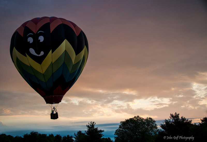 Smile<br /> Preakness Balloon Festival - Turf Valley Club<br /> Maryland