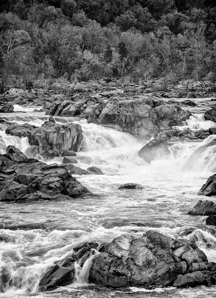 The Weather Changes  (Black & White)<br /> Great Falls