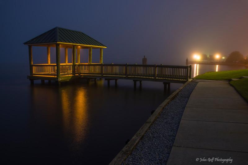 One Foggy Morning<br /> New Bern, NC
