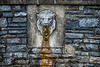 Lion In The Park<br /> Lititz Park At Christmas<br /> Lititz Pennsylvania