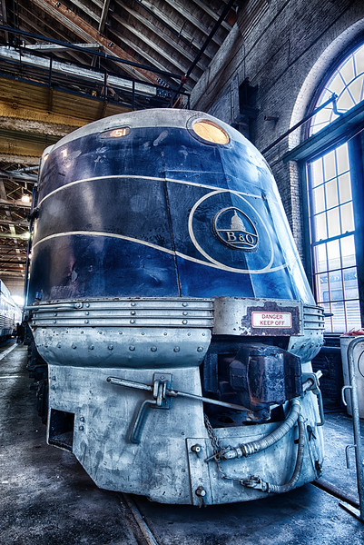 Big Blue<br /> B&O Railroad Museum<br /> Baltimore, MD