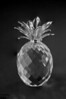 This was my first attempt at the pineapple . . . I used seven layers, and the blending gave mixed results.<br /> <br /> This is the Black & White treatment of the color original.