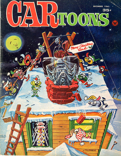 CAR toons Magazine Cover Art Archives