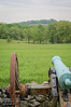 . . . sometime more direct.  That cannon is aiming at Little Round Top, in Gettysburg.