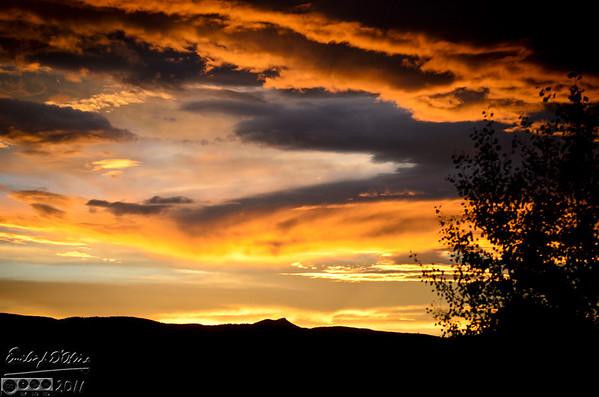 Monument Sunset - 12JUL20111