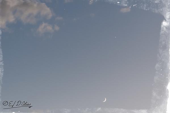 Moon, Venus, Jupiter June 2015
