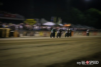 Sacramento Mile. Not enough lens so I tried for the blur effect.