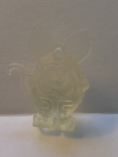 CLEAR RESIN WITH LARGE R.F.