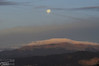 And that's Pikes Peak also offering up shelter for the moon to hide behind.