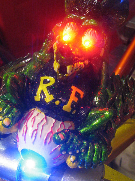 My dear old friend, Rat Fink.