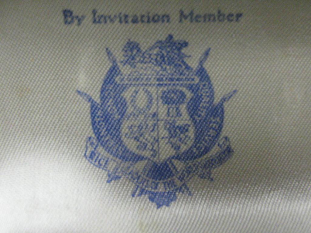 Vintage Paasche case emblem...