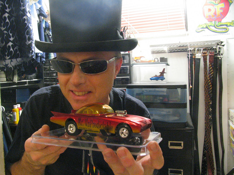 Mr. Unpredictable funny car kitbash....