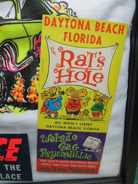 1960's Rats Hole s-shirt shop brochure