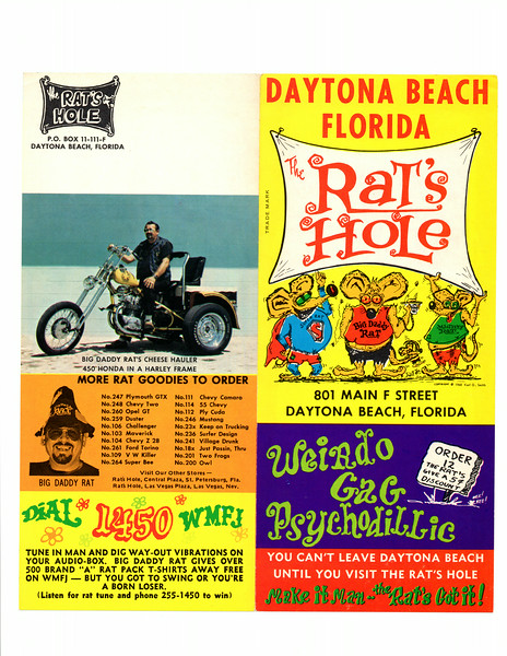 Original brochure from the 60's-70's
