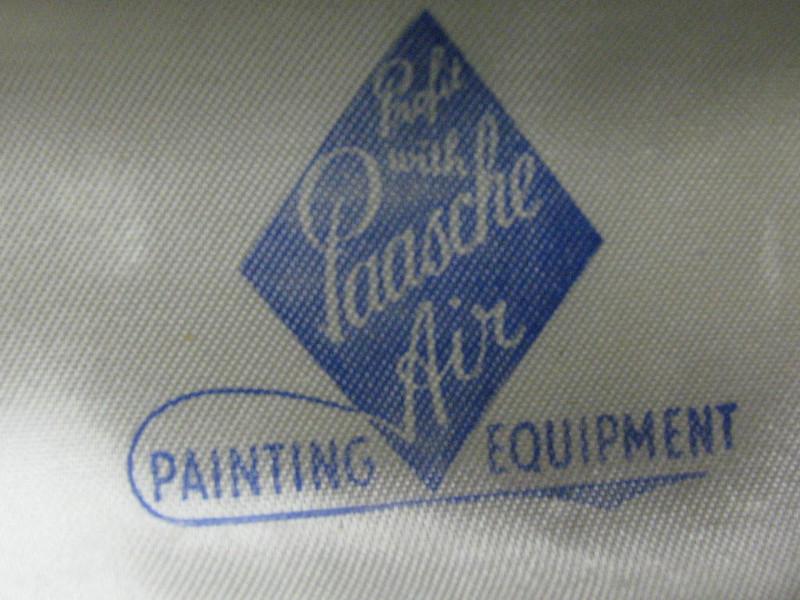 Early Paasche case emblem...
