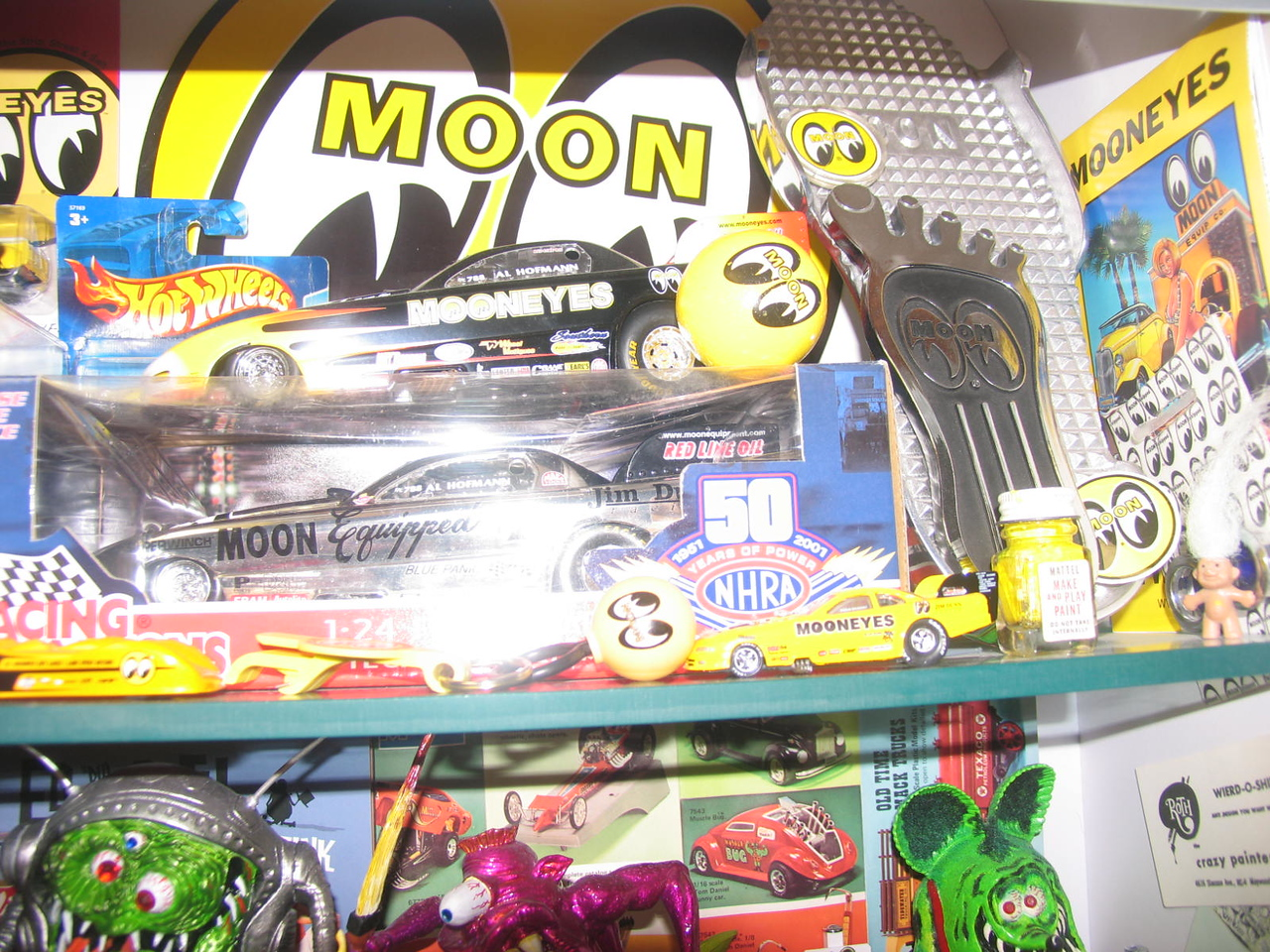"I love the ""Moon"" products memorabelia."