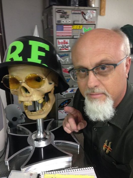 Ghost of the Rat fink Baron!