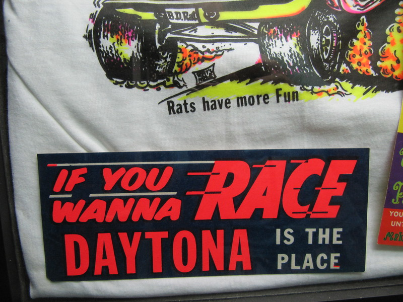 1960's Race decal from Daytona Beach