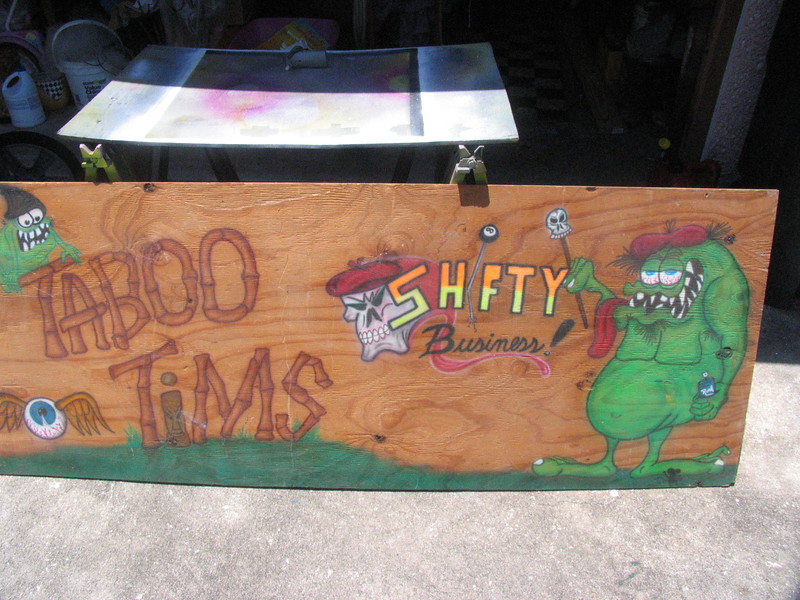 My original business sign from the early 2000's