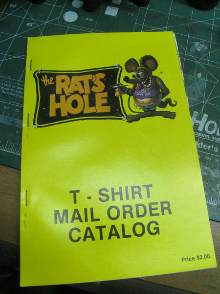 Original catalog from the 80's