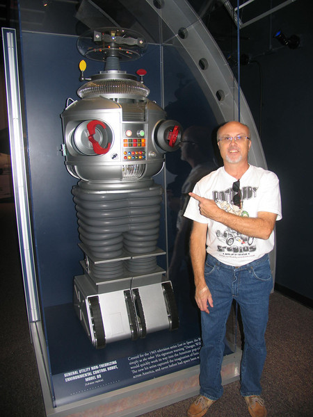 The B-9 Robot from Lost in Space!  Awesome!