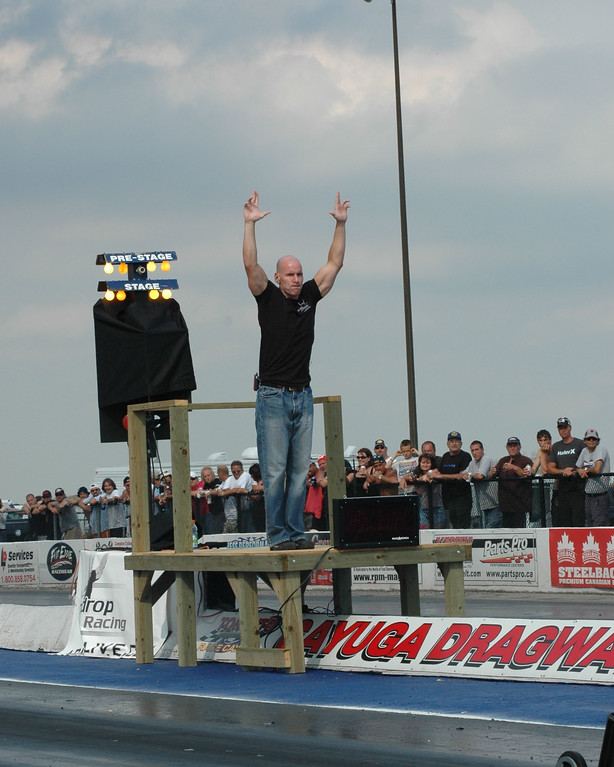 2008 July 11 Armdrop Live Cayuga Dragway July 11