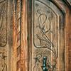Old door in Valencia