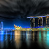 Marina Bay in night
