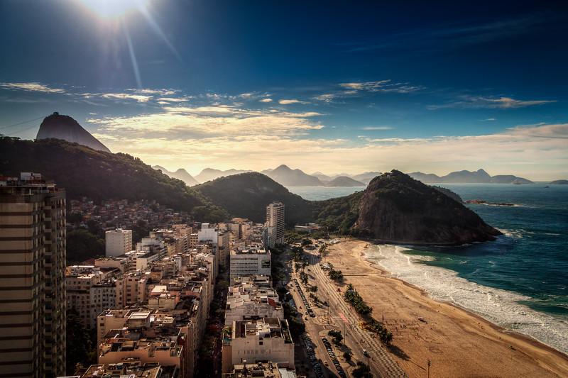 Summer morning in Rio