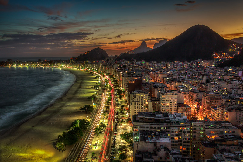 Evening in Rio-de-Janeiro