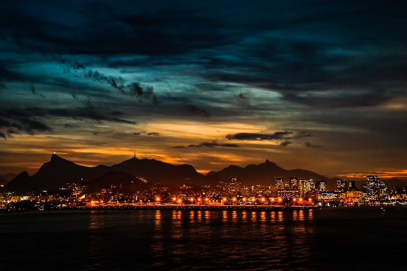 Late evening in Rio