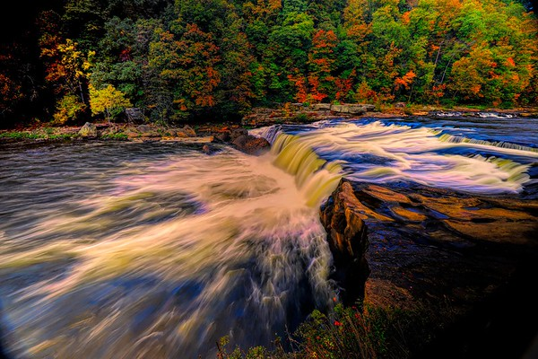 Youghiogheny Falls at Ohiopyle State Park, PA