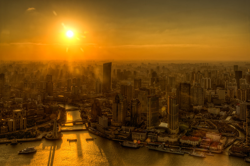 Evening Shanghai