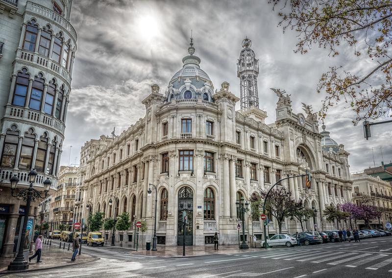 """Valencia, """"Correos y Telegrafos"""""""