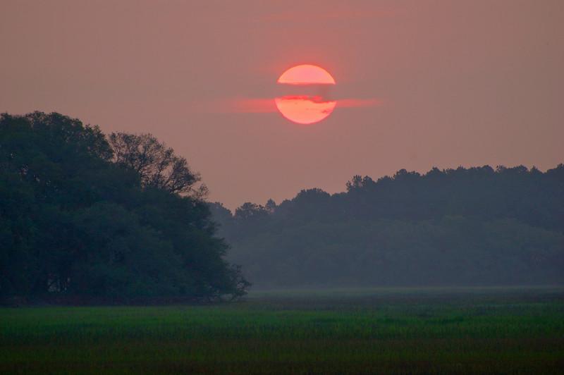 Pickney Island at sunrise