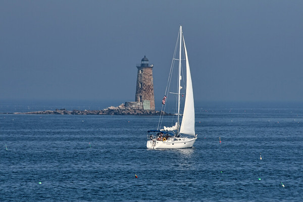 Whaleback Lighthouse, Kittery, ME