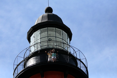Taking in the view- Ponce Inlet Lighthouse
